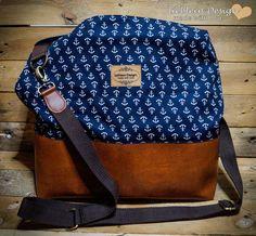 """Handtasche """"Maritim"""" von lieblein Design auf DaWanda.com"""