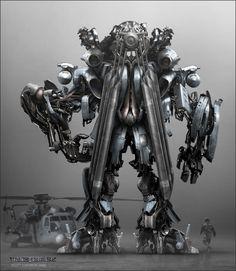 Blackout 01, Decepticon concept. Transformers 2007. | Scott Lukowski - concept artist