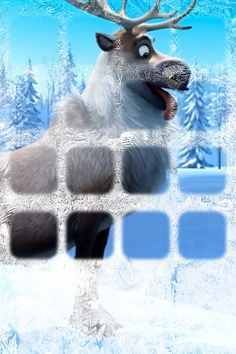 Sven iphone wallpaper. I love frozen:)