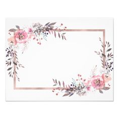 Shop Blush & Rose Gold Framed Will You Be My Bridesmaid Invitation created by GraphicBrat. Gold Wallpaper Background, Rose Gold Wallpaper, Framed Wallpaper, Flower Wallpaper, Frame Floral, Rose Gold Frame, Flower Frame, Be My Bridesmaid Cards, Will You Be My Bridesmaid