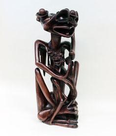 Makonde Original African Art - Makonde Carvings - Kimbunga by Nyunga Joseph Nyunga