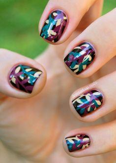 Youtube nail art tutorial | Nail art designs step by step tumblr | Nail art design ideas tutorial | Nail art design ideas for short nails...