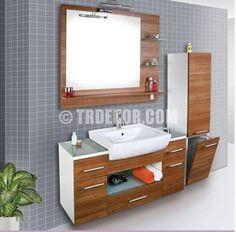 Yeni Tekzen banyo dolabı Tasarımları