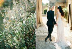 Lovely France wedding shoot by Clayton Austin
