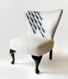 6 Fabulous Clever Tips: Vintage Upholstery Furniture upholstery tufting furniture.Upholstery Trim How To Paint. Living Room Upholstery, Upholstery Fabric For Chairs, Upholstery Trim, Upholstered Furniture, Living Room Furniture, Upholstery Nails, Upholstery Cleaning, Dining Rooms, Striped Chair