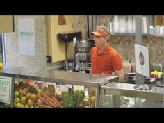 Gerry Dee Hijacks Juice Bar. Dempster's Bread 2013 commercial. #Fibre #MKM815