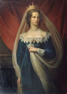 Tsaritsa Alexandra Feodorovna, wife of Nicholas I, nee Charlotte of Prussia, daughter of Frederick William III and Queen Louise