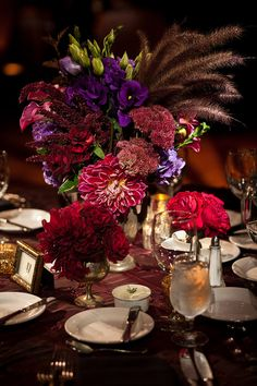 Love the colors.  Julian and Summer at Cicada from Amber Events and Natalie Moser Photography