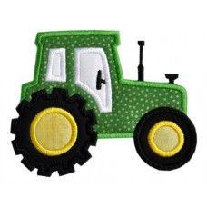 Tractor Applique  New cute tractor applique