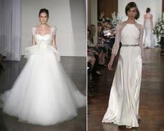 Vestidos con volumen vs vestidos ceñidos  #vestidos #boda