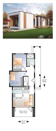 10 Meilleures Images Du Tableau Plan Maison 2 Chambres