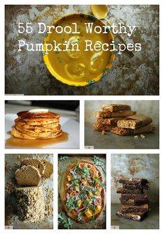 55 pumpkin recipes from @heatherchristo