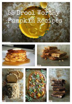 55 pumpkin recipes