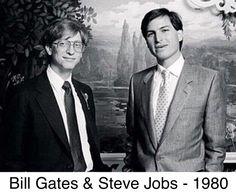 Bill Gates Steve Jobs, Steve Jobs Apple, Steve Wozniak, Steve Jobs Walter Isaacson, Steve Jobs Photo, Whatsapp Spy, Apple Picture, Photos Rares, Boy Meets