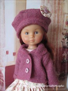 Tenue pour poupée Chéries de Corolle by LesCouturesdeMagda on Etsy