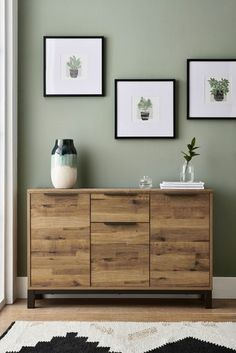 Bronx Compact Large Sideboard Bed Next, Large Sideboard, Drinks Cabinet, Living Room Green, Home Renovation, Home Projects, Living Room Furniture, Small Spaces, New Homes