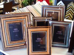 More beautiful frames by Roma Moulding
