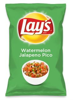 Wouldn't Watermelon Jalapeno Pico be yummy as a chip? Lay's Do Us A Flavor is back, and the search is on for the yummiest flavor idea. Create a flavor, choose a chip and you could win $1 million! https://www.dousaflavor.com See Rules.