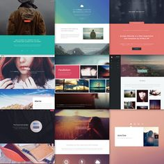Responsive and site templates designed by and released under the Creative Commons license. Site Templates in HTML Apipum Bucir Ofoqy Web Design, Site Design, Custom Website, Free Website, Template Site, Templates, Website Maker, Website Structure, Responsive Site