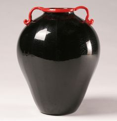 Fratelli Toso Murano Art Glass Vase