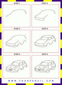 109 how to draw a car for kids step by step