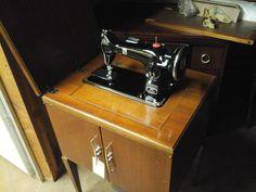 Montgomery Wards HBC Vintage Sewing Machine, restored by Stagecoach Road Vintage Sewing Machine