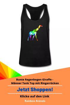 Kaufe dir jetzt diesen Premium Tank Top für die sportlichen Sommertage. Lass dir diese und weitere Tier-Zeichnungen auf deine Herren-Mode drucken. Lasse dich inspirieren   Schau jetzt in unserem Shop vorbei! Klicke jetzt auf den Link! #TankTop #Herrenmode #Stile #Herrenstile #Spreadshirt #Giraffe #Rainbowanimals #Mode #Herrenoutfit #Herrenbekleidung #Modeinspiration #Inspiration