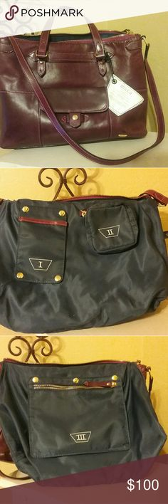 III BECA purse by Joy Gryson III BECA purse, III BECA Holiday '13 Zip Tote Dewberry #64316 Great condition! III BECA by Joy Gryson Bags