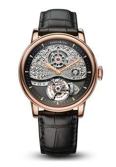 The Arnold & Son TE8 Métiers d'Art II Timepiece