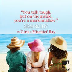 You and your friends can unlock the first 4 chapters of Susan Mallery's THE GIRLS OF MISCHIEF BAY! Share, tweet and read !  CLICK HERE!  #HarlequinBooks