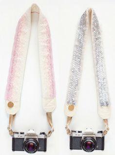 Handmade camera straps!