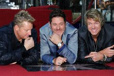 Rascal Flatts - Star on the Walk of Fame.. Congrats guys!!