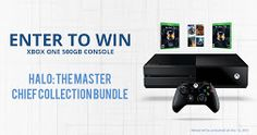 Enter to Win an Xbox One with Hal- The mater chief collection bundle! http://woobox.com/2dbgya/gdkptq