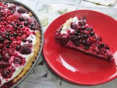 Kulinarne Wariacje: Tarta na kruchym cieście z owocami