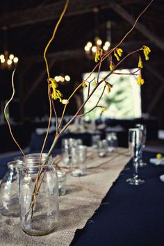 Simple. Photo by Kathryn Krueger Photography, flowers by Jessica Raymond, event planning & design by Kimberly Brook Downey