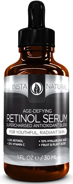 MY REVIEW: InstaNatural Age-Defying Retinol Serum | health and Beauty 4Ever