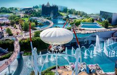 Best amusement parks in Europe - Futuroscope, France