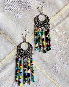 Βοho colorful earrings Colorful, Boho, Earrings, Home Decor, Ear Rings, Stud Earrings, Decoration Home, Room Decor, Ear Piercings