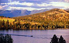 Enjoy the beauty of Flathead Lake, Montana | America's Best Lake Vacations | Travel + Leisure
