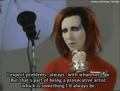 """If you express yourself left """"normal""""(whatever that is), expect problems."""