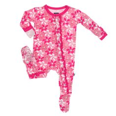 Snap your little peanut into the most cuddly footie. Features a crab print and pink ruffle hemming. The snaps open for easy diaper access. Viscose from Bamboo, Spandex Desert Flowers, Girl M, Toddler Outfits, Baby Kids, Cool Style, Dress Up, Boutique, Muffin, Shopping