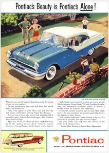 1955 Pontiac – V8s rule!