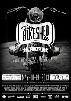 Bike Shed Event 2013 Poster FINAL Med