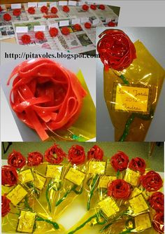 pitavoles: flors Kindergarten Classroom Organization, St Georges Day, Creative Labs, Saint George, Spring Crafts, Diy Projects To Try, Gift Wrapping, Diy Crafts, Vader