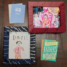 This DIY Father's Day Tie Wrapped Picture Frame is perfect for little hands to make for their daddy this year. Makes a perfect Father's Day DIY gift. Diy Father's Day Tie, Father's Day Diy, Funny Fathers Day, Happy Fathers Day, American Greetings, Funny Gifts, Picture Frames, Dads, Greeting Cards