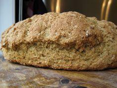 Whole Wheat Oatmeal Irish Soda Bread | A Hint of HoneyA Hint of Honey