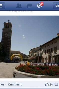 The Aviano,Italy piazza where I used to hang out back in the day.
