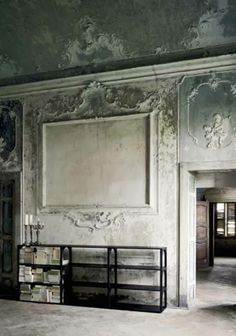 old ornate plaster. South Shore Decorating Blog: Weekend Roomspiration #13