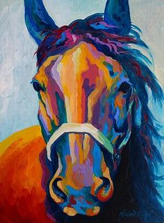 One Of The Boys by Marion Rose Acrylic ~ 16 x 12
