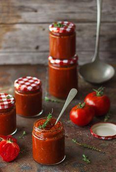 salsa de tomate asados